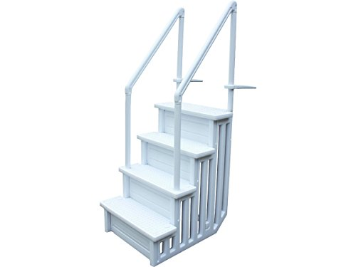 habitatetjardin Escalera Simple para Piscina