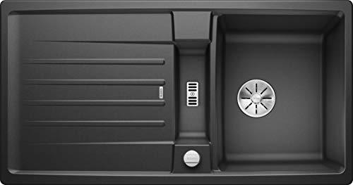 Blanco 524920 Lexa 5 S Küchenspüle, anthrazit, 50 cm Unterschrank