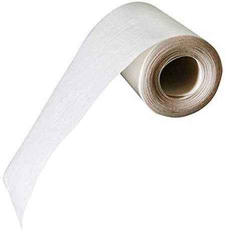 IF&D Fabrics and Drapes -10 Yards - 4 Inch Wide - Iron-On Fusible Buckram/Heading Tape - Style #BI465