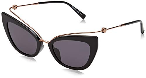 Max Mara Mm Marilyn/G Occhiali da Sole, Blk Gold, 53 Donna