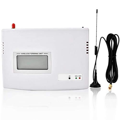 Terminale GSM Terminale GSM 900 / 1800MHz Telefono fisso Terminale senza fili Supporto Sistema di allarme 100-240V Bianco Dialer da linea fissa a wireless (Dual band)