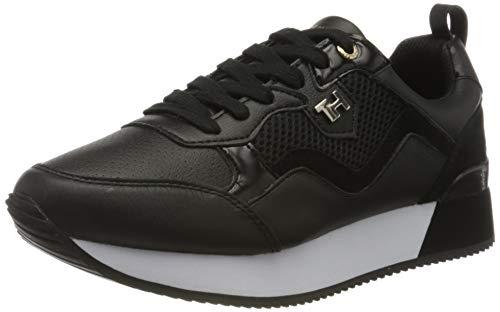 Tommy Hilfiger Damen Annie 7c Sneaker, Schwarz (Black Bds), 42 EU