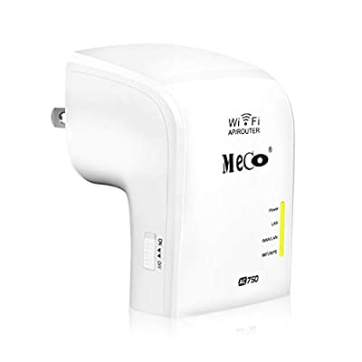 WiFi Range Extender, MECO AC750 WiFi Repeater D...