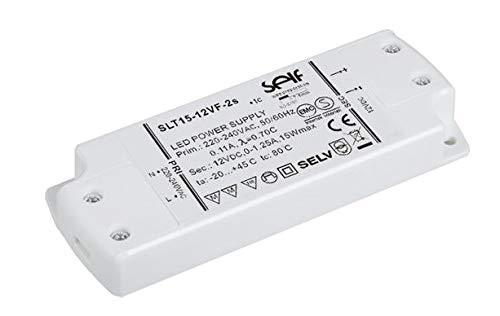 Rolux - Led transformador 12v dc 15w conductor del transformador del conductor