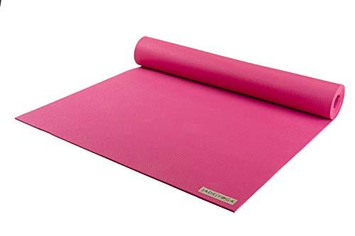 JADE YOGA - Harmony Yoga Mat (3/16 Thick x 24 Wide) (Flamingo Pink, 68)