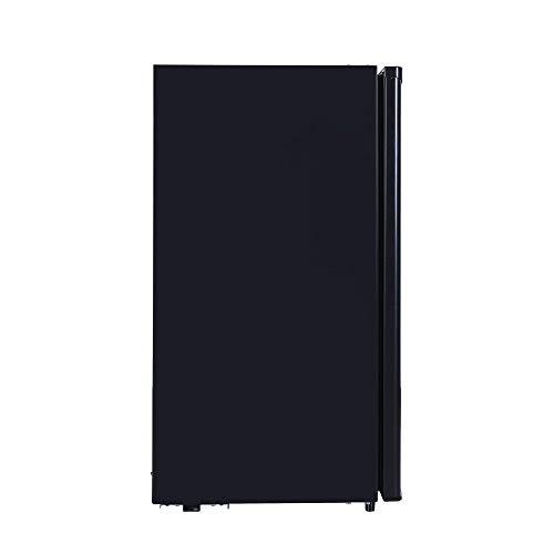 RCA RFR320-B-Black-COM RFR321 Mini Refrigerator, 3.2 Cu Ft Fridge, Black, CU.FT