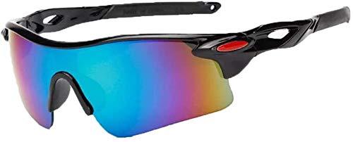 Squash bril 2PCS / LOT New Explosion-proof Mannen en Vrouwen Glazen van de Zonnebril fiets buiten Sportbrillen Outdoor bril (Color : 12, Size : 2PCS)
