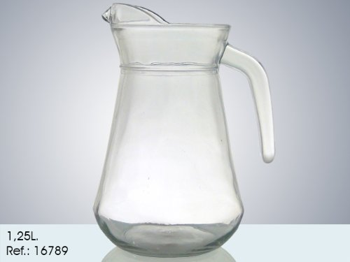 AVENUELAFAYETTE Carafe Transparente Verre 1250 ML