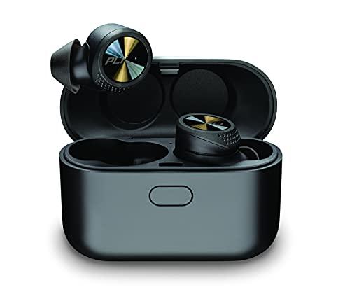 Plantronics BACKBEAT PRO 5100 Cuffie Bluetooth 'True Wireless', In Ear, IP54 e cancellazione del rumore, nero