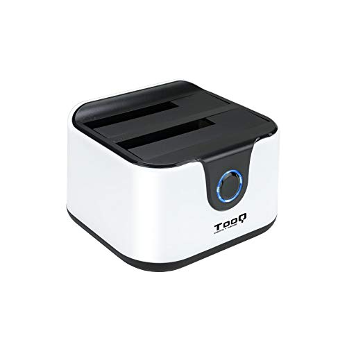 TooQ TQDS-802BW - Base conexion Docking Station Doble