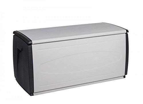 XXL Box mit 308 Liter Volumen und viel Platz für Ihre Stuhlauflagen, Kissen oder andere Gegenstände - robust, abwaschbar und einfach im Aufbau