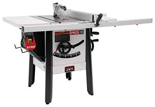 JET JPS-10 115V 30' ProShop Table Saw with Steel Wings (725004K)