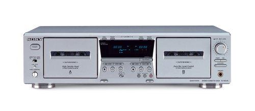 Sony TC-WE475/S Doppel-Kassettendeck Silber