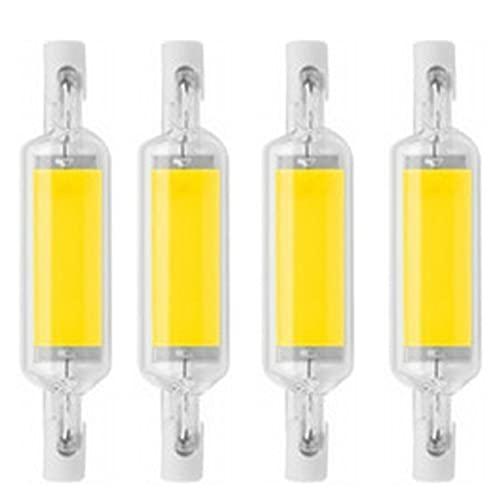 FILTER Bombilla LED halógena de Repuesto R7S 78mm T3 J78 Tipo J Doble Contacto R7S Luz de Trabajo Blanca fría 6000K