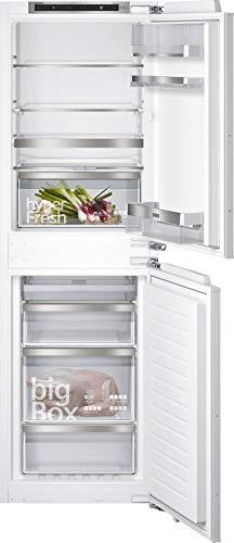 Siemens KI85NADE0 iQ500 Einbau-Kühlgefrierkombination / E / 236 kWh/Jahr / 247 l / noFrost / hyperFresh Plus / LED Beleuchtung