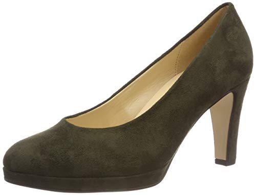 Gabor Shoes Damen Fashion Pumps, Grün (Oliv 41), 37 EU