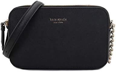 Kate Spade New York Women s Cameron Street Double Zip Camera Crossbody Bag Black product image
