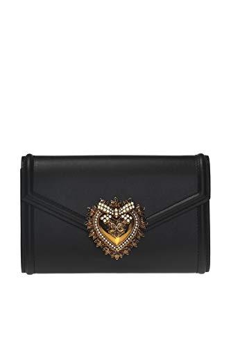 Dolce E Gabbana Cintura Donna Bb6706av89380999 Pelle Nero