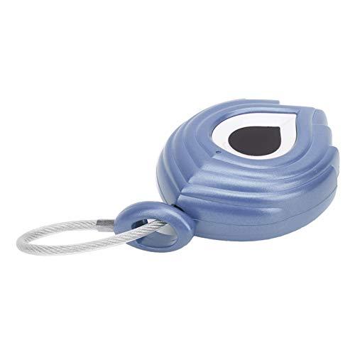 Cerradura USB sin llave, sin candado inteligente, práctica para la oficina con bloqueo de protección segura para el hogar(blue)