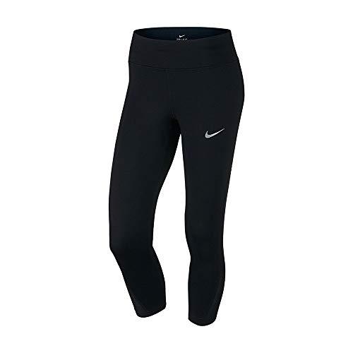 Nike W Nk Pwr Crop Racer Damen 3/4 Leggings, Schwarz, XS