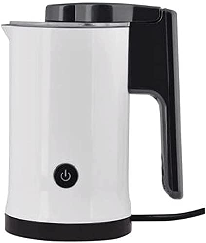 Espumador Leche Milk Frother Calentador De Leche Batidora Leche Espuma Calienta Leche Electrico Vaporizador de leche para el hogar de 600 vatios con función de frío o calor Calentador automático de