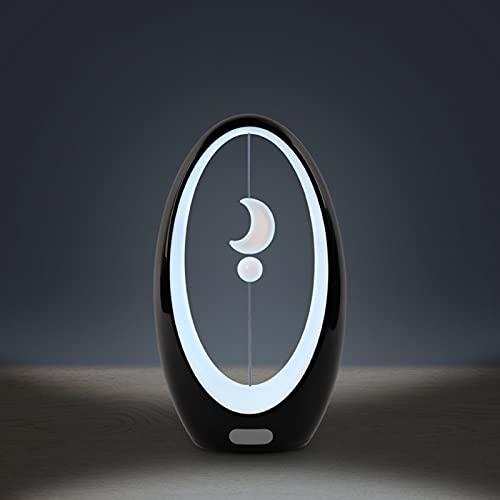 Lámpara de Aprendizaje LED, Levitación magnética Luna Luz de Noche Creativa, Regalo Lámpara de inducción portátil