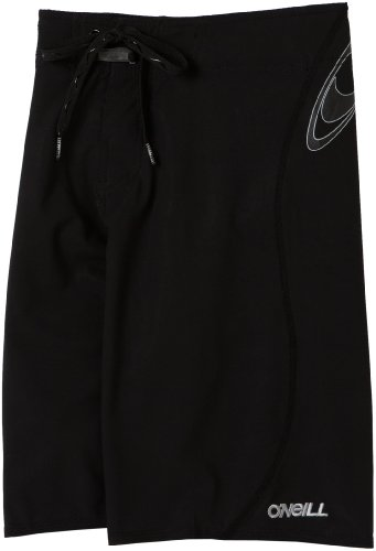 O'Neill Big Boys' Hyperfreak Boardshort,Black Solid,8