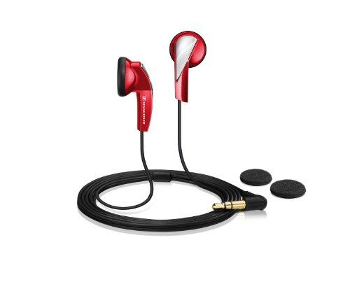 Sennheiser MX 365 In-Ear Micro-Kopfhoerer ergonomisch red