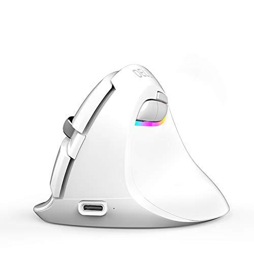 LIQIANG Ergonomic Mouse, Vertical Mouse, Adjustable DPI, for Laptop, Pc, Desktop
