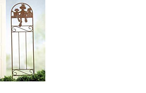 Décoration de jardin, 'froschkönig'rusty, 110 cm