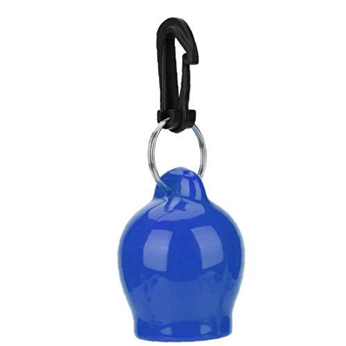 Tapa De Buceo Boquilla De Silicona a Prueba De Polvo Cubierta Termoplástica Boquilla Tapa Protectora Octopus Holder Buceo Accesorios Azul