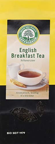 Lebensbaum Schwarztee Lose - English Breakfast Tea, 100 g