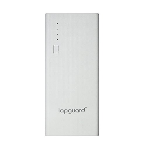Lapguard 10400 mAh Lithium Ion Power Bank LG514 (White)