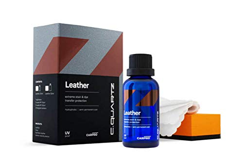CarPro CQuartz Leather & Vinyl 50mL Kit - Hydrophobic & Oil Phobic