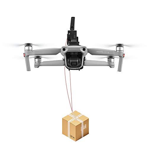 Drone Airdrop Remote Thrower for DJI Mavic 2/Pro/Air 2/Air/Mini 2/Mavic Mini/FIMI X8SE /Phantom 3 4 - Fishing Bait Delivery Air-Dropping System