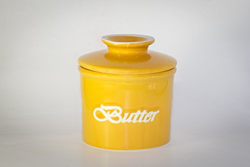 2 Stück zum Preis von einem!!! YELLOW Friday!!! Holen Sie sich die Sonne auf den Tisch!!! Butterfässchen Landhausserie