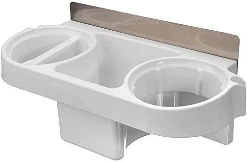 HSWJ Baño Estante secador de Pelo Estante Estante Estante secador de Pelo montado en la Pared Impermeable y Durable