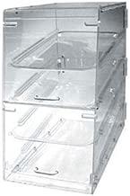 Winco ADC-4 4-Tier Pastry Display Case, Acrylic