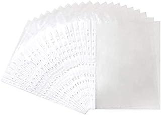 Partner Plastic Punch Pockets Folders (A4, 100 Pieces)