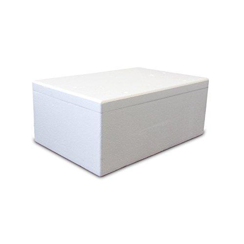 Styroporbox/Thermobox - 66,0 Liter - 72,0 x 48,0 x 30,0 cm/Wandstärke 3 cm - Styrobox