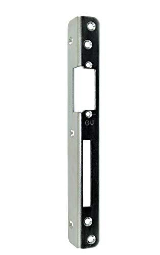 GU BKS Secury Sicherheits Haustür Schließblech 250x30x25x3mm vorgerichtet für e-öffner Rechts