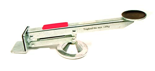 HAROMAC Tür- und Plattenheber, max. Hebkraft 120kg, 315 x 50 x 70 mm,