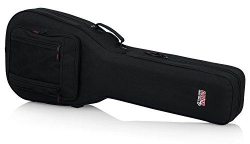 Funda rígida ligera de espuma EPS para bajos acústicos, de Gator, Escriba Gibson SG