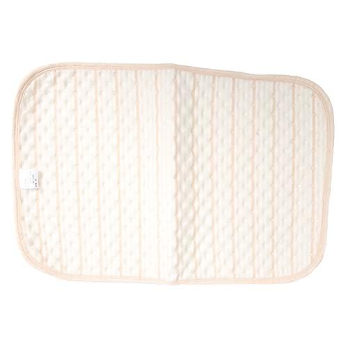 Almohadillas de incontinencia, almohadillas impermeables para la cama para bebés, almohadilla para la base reutilizable, lavable, impermeable, para niños y adultos, 3 capas(80 * 100cm)