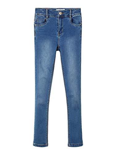 NAME IT Girl Jeans High Waist Skinny Fit 158Medium Blue Denim