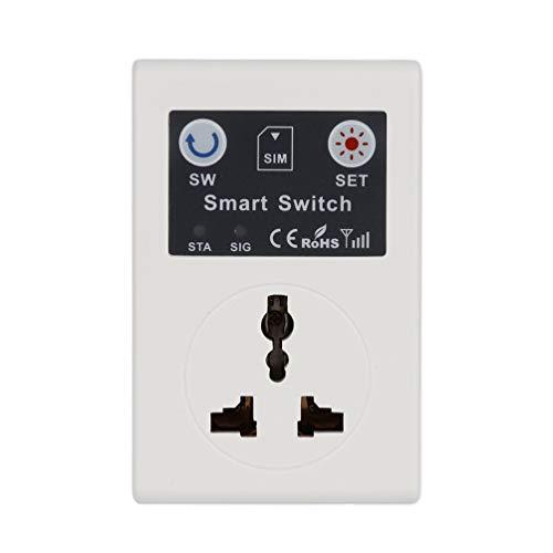 SWEEPID Profesional 220 V teléfono RC Control remoto inalámbrico Smart Switch GSM Socket enchufe de alimentación para el hogar electrodoméstico,