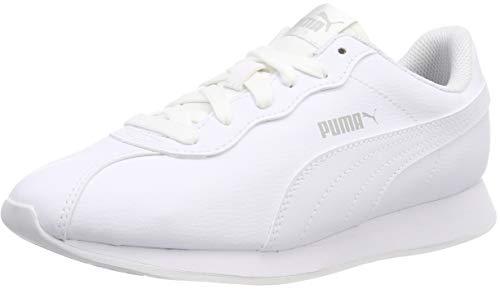 Puma Unisex-Erwachsene Turin Ii Fitnessschuhe, Weiß (Puma White-Puma White 03), 38 EU