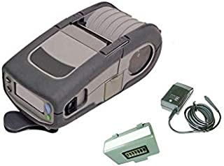 Belt Clip Wireless WiFi 3 Inch Charger QL320 Plus Barcode Label Printer b//g Direct Thermal USB Comm Port