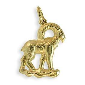 Sternzeichen Anhänger Steinbock 14 Karat Gold 585 (213104)