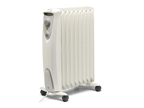Dimplex OFRC20N Oil Free Electric Heater, White, 2KW